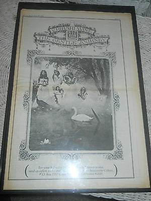 1970 Vintage Cribari Wine The Gentle Journey Vino Ca Advertisement Poster Pinup