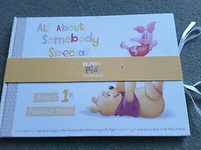 Winnie the Pooh Baby Record Book