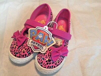 """Little Girls~Size 6 . Pink/Black """"Paw Patrol"""" shoes~NWT!"""