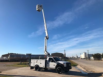 Ford F550 Bucket Truck Altec 42 Ft Reach 6.7 Diesel Automatic NO CDL 2012 2013