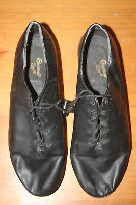 Leo's Giordano Tap Shoes, Men's 10.5, Leather Lace Up, Leo's Ultratone Taps,Used