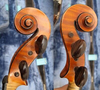 N/r Fine French Violin By Charles Collin-Mézin [Pére] 1901 ! Piece Of History!