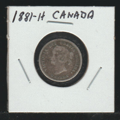 Canada, 1881-H Five Cents