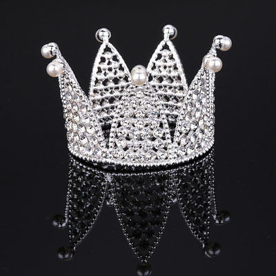 5.5cm High Full Crystal Luxury Wedding Party Pageant Prom Tiara Princess Crown