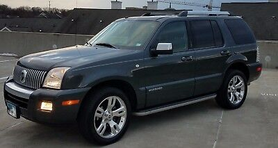 2010 Mercury Mountaineer Premier Mercury Mountaineer Premier AWD
