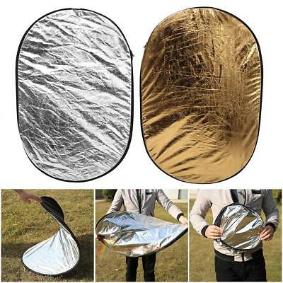 100x150cm 5-in-1 Photography Studio Multi Disc Photo Collapsible Light Reflector