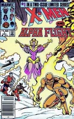 X-Men Alpha Flight (1st Series) #1 1985 FN Stock Image