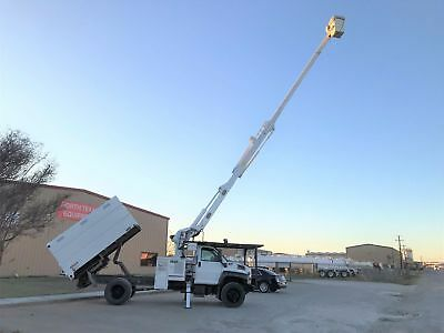 Gmc C7500 Forestry Bucket Truck Tree Trimming Chipper Bed 60 Foot Low Miles 2006