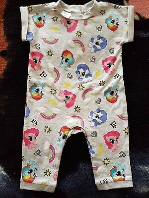 Girls brand new My LITTLE PONY romper long pants size 00