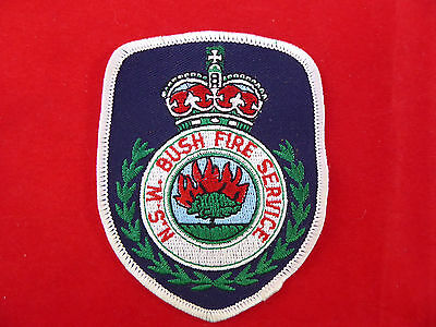 Vintage NSW Bush Fire Service Patch