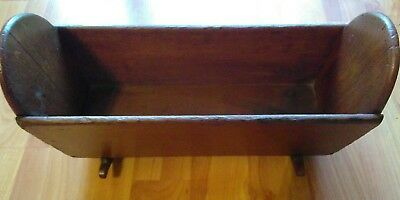 Antique Doll Cradle Wood Circa Early 1900's Beautiful Condition