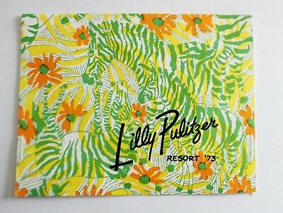 VTG Lilly Pulitzer Catalog Resort 1973
