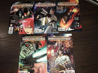 ROBOTECH PRELUDE TO THE SHADOW CHRONICLES 1-5 Comics Complete Run Wildstorm RARE
