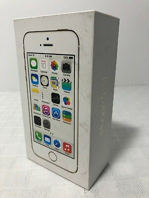 Apple iPhone 5s gold 16GB EMPTY BOX ONLY No Accessories