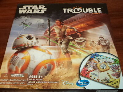 Star Wars Trouble - Hasbro Games Board Game New!