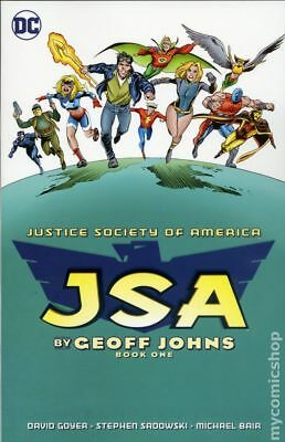 JSA TPB (DC) By Geoff Johns Deluxe Edition #1-1ST 2017 NM
