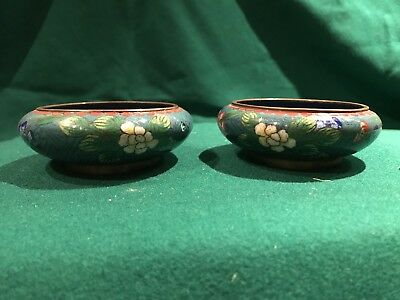 Japanese Cloisonné Dishes