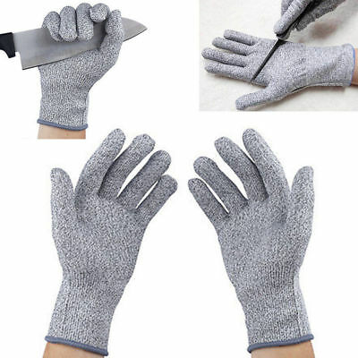 Safety Cut Proof Stab Resistant Stainless Steel Metal Mesh Work Butcher Gloves Q