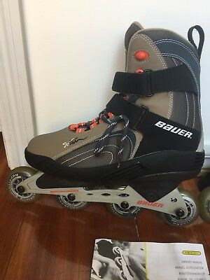 Bauer Roller Blades Used Mint Size 11 US