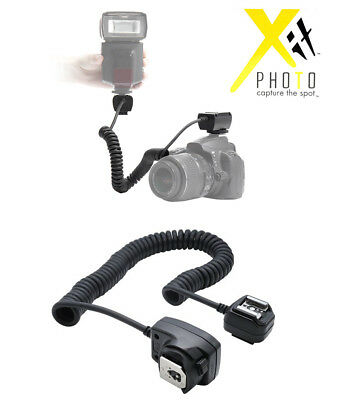 XIT Off Shoe Camera Cord OC-E3 FOR CANON FLASH Speedlite 220EX 320EX 430EX 580EX