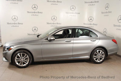 2015 Mercedes-Benz C-Class 4dr Sedan C 300 4MATIC 2015 C300 4MATIC PALLADIUM SILVER