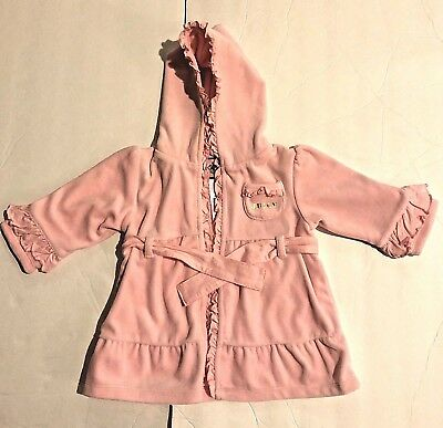 Juicy Couture Baby Pink Robe new without tags 0-9 months