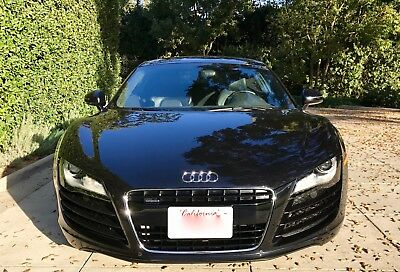 2008 Audi R8 Ltd. 2008 Audi R8 Limited Phantom Black One Owner So Cal Car Loaded All Records