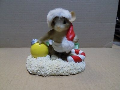 Charming Tails Baby's First Christmas Mouse Figurine 87/115