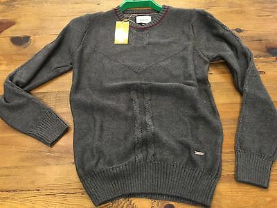 Gucci Men's Navy And Antracide Sweaters