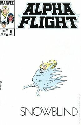 Alpha Flight (1st Series) #6 1984 VG Stock Image Low Grade