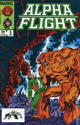 Alpha Flight (1st Series) #9 1984 FN Stock Image