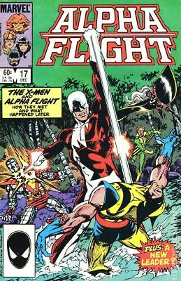 Alpha Flight (1st Series) #17 1984 VG Stock Image Low Grade