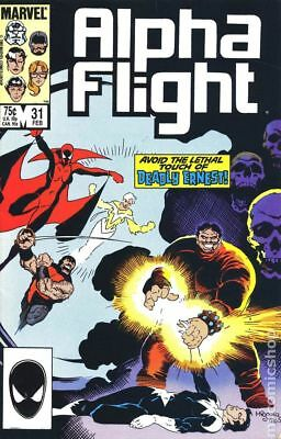 Alpha Flight (1st Series) #31 1986 FN Stock Image