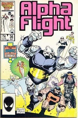 Alpha Flight (1st Series) #36 1986 VF Stock Image
