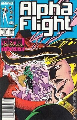 Alpha Flight (1st Series) #50 1987 FN Stock Image