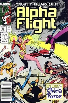 Alpha Flight (1st Series) #69 1989 VF Stock Image