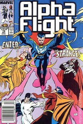 Alpha Flight (1st Series) #78 1989 VF Stock Image