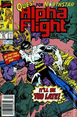 Alpha Flight (1st Series) #81 1990 FN Stock Image