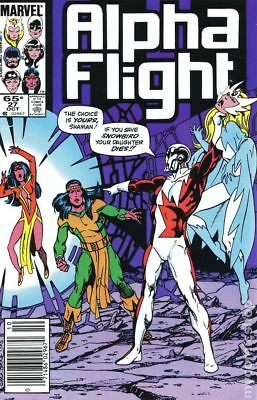 Alpha Flight (1st Series) Mark Jewelers #27MJ 1985 GD/VG 3.0 Stock Image