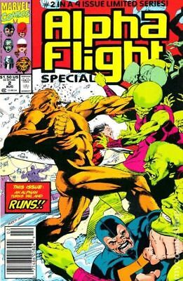 Alpha Flight Special #2 1991 VF Stock Image