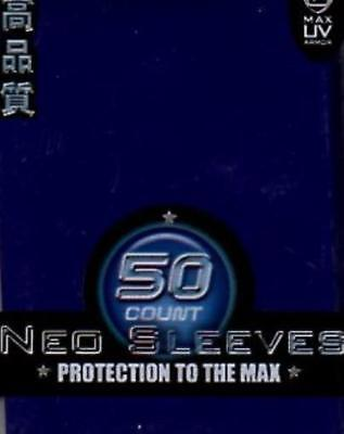 Max Protection Card Protection Neo Sleeves - Blue (50) MINT