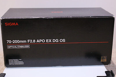Sigma 70-200mm f2.8 APO OS for canon