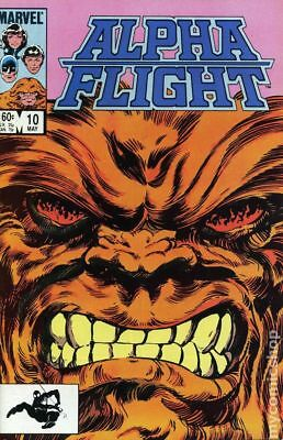 Alpha Flight (1st Series) #10 1984 FN Stock Image
