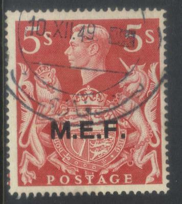Middle East Forces 1943-1947 Optd Sgm20 Used Cat £17