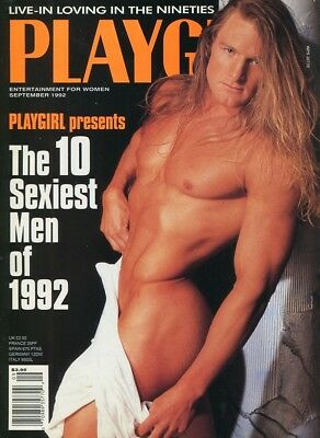 Playgirl Magazine September 1992 - Gay Interest