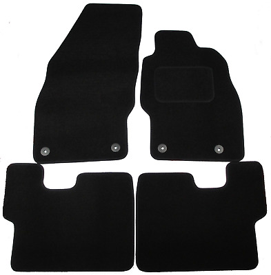 Vauxhall Corsa D 2006-2014 Fully Tailored Car Mats in Black