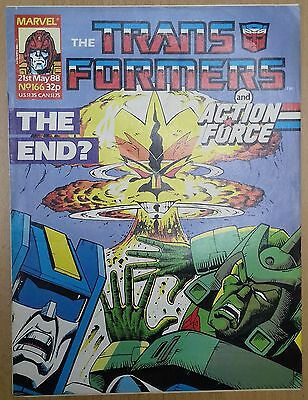 Transformers UK Comic Issue 166