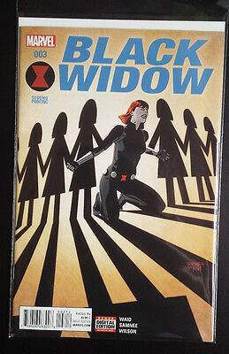 Black Widow # 3 Marvel Comics . Bagged/boarded