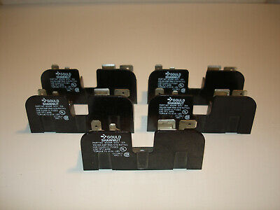 *LOT* (5) Gould Shawmut 30320R Fuse Holder 30A 600V  *NEW*