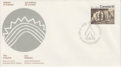 Canada #579 10¢ Iroquoian Indians First Day Cover